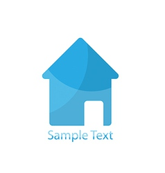 Home logo for vector image