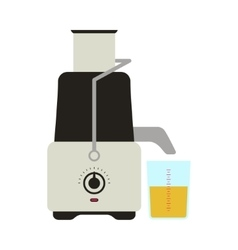 Juicer Icon Card vector image
