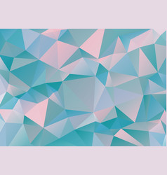 Polygonal geometric pattern vector