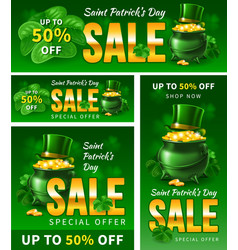 Saint patricks day sale vector