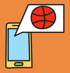 unusual look dribbble social media icon social vector image