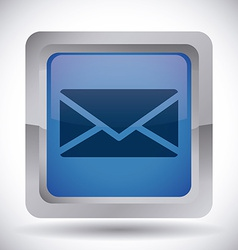 mail icon design eps10 graphic vector image