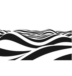 abstract background of waves vector image