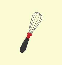 Handle Whisk icon vector image