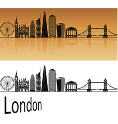 London v2 skyline vector
