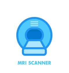 Mri scanner icon vector