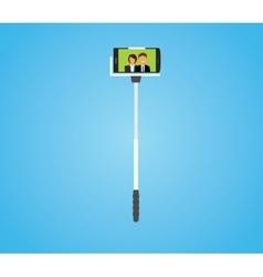 selfie sticks vector image