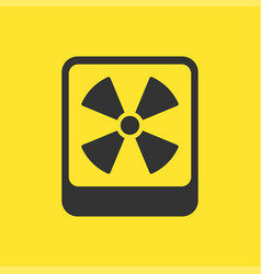 yellow danger warning attention vector image