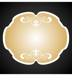 royal background card for design vector image vector image