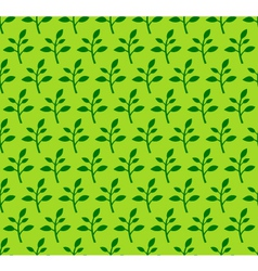 Spring Sprout Seamless Pattern vector image