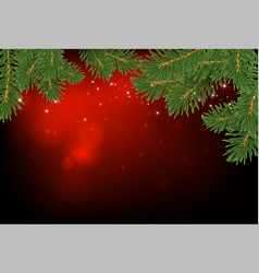 cristmas background highly realistic vector image vector image