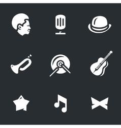 Set of Jazz Music vector image vector image