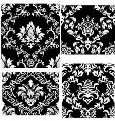 amask patterns set vector image