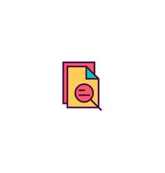 file icon design essential icon design vector image