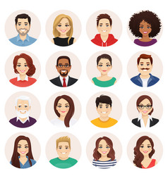 people set vector image