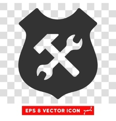 Shield Options Eps Icon vector