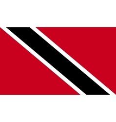 Trinidad and Tobago flag image vector