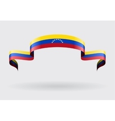 Venezuelan flag background vector