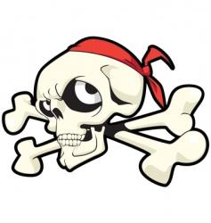 joley skull vector image