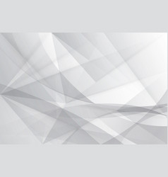 Abstract gray and white lowpoly background vector