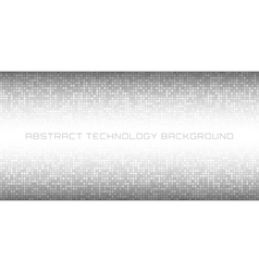 Abstract Gray Technology Horizontal Background vector image