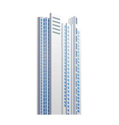 icon skyscraper vector image