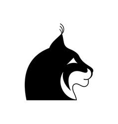 Lynx-Head-380x400 vector image