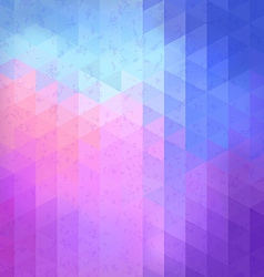 Geometric retro pattern with place for your text vector image