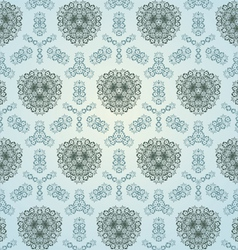 vintage floral wallpaper vector image