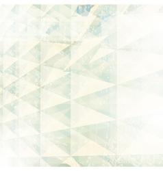 retro geometric background vector image vector image