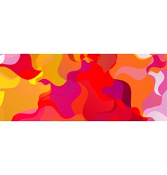Colorful background Polygonal colorful brazilian vector image vector image