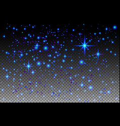 abstract background is a space with stars nebula vector image