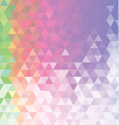abstract colorful background with triangle 03 vector image
