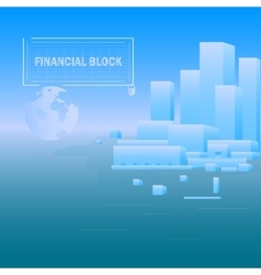 Background financial unit vector