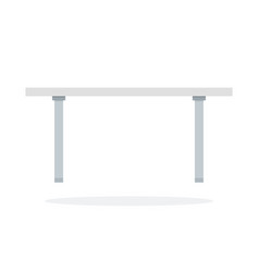 blank white desktop vector image
