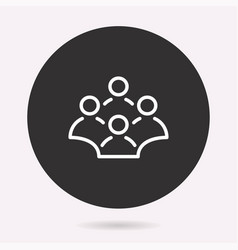 Conference - icon isolated vector