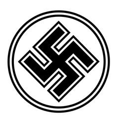 Nazi world war 2 symbol vector