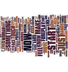 power foreplay text background word cloud vector image