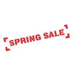 Spring sale rubber stamp vector
