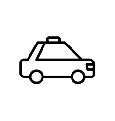 taxi travel icon vector image