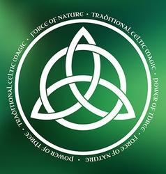 Triquetra symbol vector