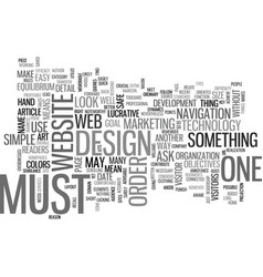 What makes a site lucrative text word cloud vector
