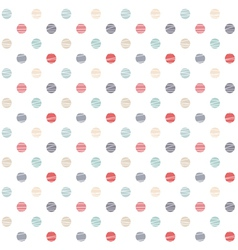 simple seamless pattern vector image