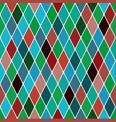 harlequin mardi gras pattern vector image vector image