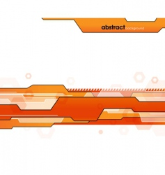 futuristic template vector image vector image