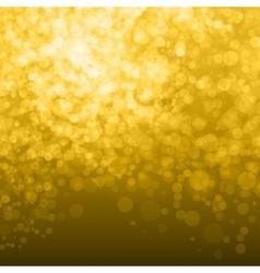 Abstract Golden Background bokeh vector image