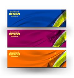 banner web design vector image