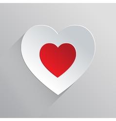 Beautiful Flat Heart Icon vector