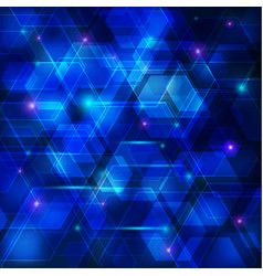 Blue abstract techno background vector