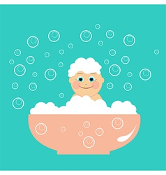 Child wash vector